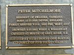 Peter Michelmore Plaque : 2007