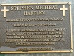 Stephen Micheal Hartley : 2007