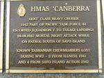 Naval Plaque : HMAS Canberra 2007
