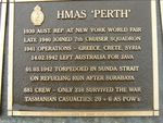 Naval Plaque - HMAS Perth : 2007