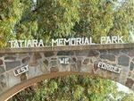 Tatiara Memorial Park