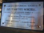 Memorial Plaque : 16-06-2014