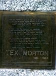 Tex Morton Inscription