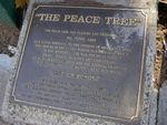 Peace Tree Plaque Inscription : 02-August-2014