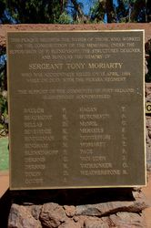 Construction & Moriarty Plaque : 06-August-2015