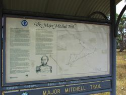 Mitchell Information Plaque : 06-December-2014
