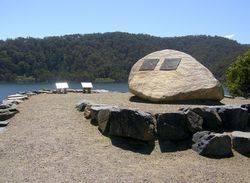 Thomson Dam Plaques : 29-October-2014