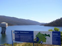 Thomson Reservoir : 29-October-2014
