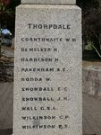 Thorpdale War Memorial : 11-April-2013