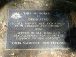 Timboon War Memorial : 11-May-2013