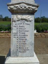 WW1 Fallen : 15-December-2014