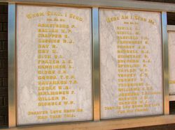 WW1 Honour Roll : 08-April-2015
