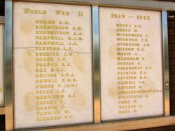 WW2 Honour Roll : 08-April-2015