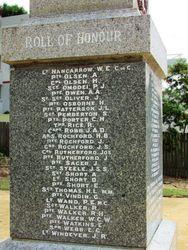 Honour Roll : 26-February-2016