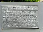 Trophy of British Valour Plaque