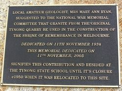 Plaque Inscription : 28-October-2014
