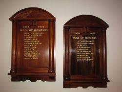 Unknown Honour Rolls : 17-December-2014