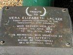 Vera Lacaze Plaque