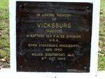 Vicksburg Plaque