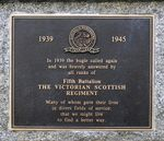 Victorian Scottish Regiment Memorial : 12-September-2011