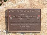Violet Smith Inscription