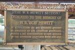 Bob Hewitt Plaque : 09-04-2014