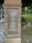 Walcha War Memorial : 15-December-2012