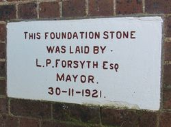 Foundation Stone: 01-July-2015