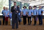 Nigel Allsopp presenting funds to RDA: 02-August-2014