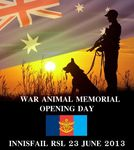 War Animals Dedication Flyer : June 2013
