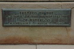 Dedication Plaque: 23-September-2015