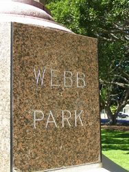 Webb Park Inscription : 18-September-2014