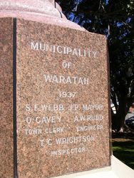 Municipality of Waratah : 18-September-2014
