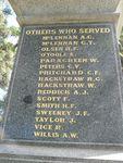 Welshpool War Memorial : 10-April-2013