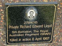 Lloyd Plaque : 26-May-2015