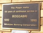 Westpac 100 Years Plaque  : 13-August-2014