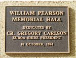 William Pearson Memorial Hall : 12-May-2013