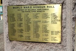 WW2 & Vietnam Honour Roll : 22-March-2015