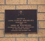 Winchelsea Clock Inscription : November 2013