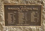Winjallock War Memorial : 10-March-2012