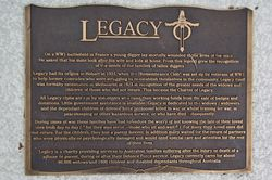 Legacy Plaque: 28-May-2017
