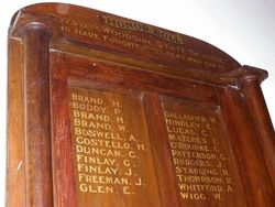 Honour Roll Closeup : 31-October-2014