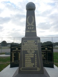 Woolsthorpe War Memorial