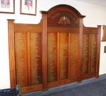World War One Honour Board