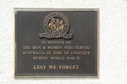 Australia Remebers 2 : 08-September-2014