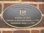 Heritage Plaque : 26-03-2014
