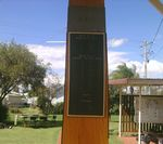 Yarraman War Memorial : 05-June-2013