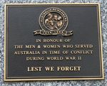 Yarrawonga War Memorial : 22-July-2012