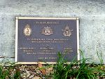 War Memorial Plaque : 27-05-2014