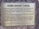 Yugar Railway Tunnel Plaque : 04-08-2012